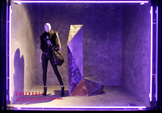 ultra violet cor do ano 2018 pantone vitrines visual merchandising (6)