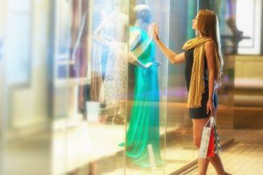 boas ideias de vitrines lojas moda 5