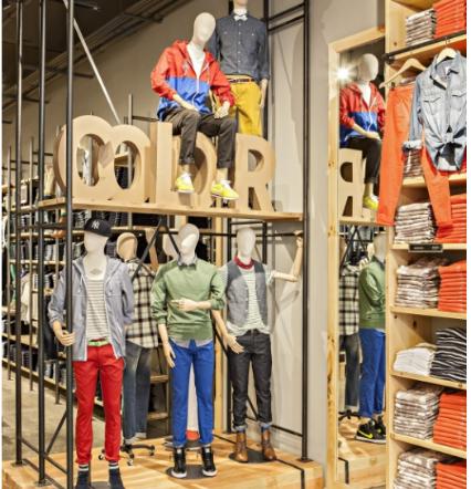 visual merchandising varejo moda masculina 3