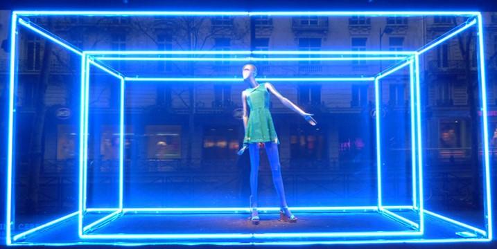 iluminação projeto vitrine